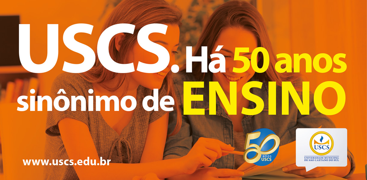 Front USCS 50 anos